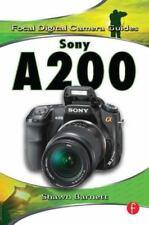 NEW - Sony A200 (Focal Digital Camera Guides) by Barnett, Shawn
