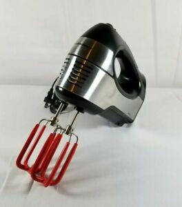 Hamilton Beach Type M40 Stainless Steel 6 Speed Hand Mixer No.# 62648