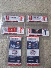 SF Giants 2012 World Series / Postseason Phantom Tickets Set Of 6 - NLDS/WS