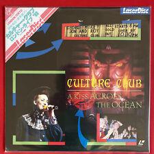 Laserdisc Culture Club A Kiss Across the Ocean Japan Pressung Obi /Musik /RAR