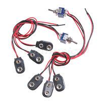 2 Sets 18 Volt Mod Guitar Harness for EMG PICKUP w/Mini switch 9V/18V