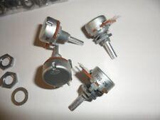 2 X Alps 2M Audio (D forma cónica) Potenciómetro 4mm Eje RK163 Nuevo
