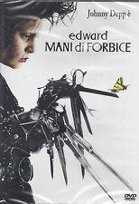 Dvd **EDWARD MANI DI FORBICE** con Johnny Depp nuovo sigillato 1991