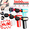 Mini Muscle Massage Gun Massager Percussion Vibration Therapy Deep Tissue