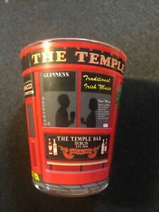 Loose Shot Glass With Temple Bar Traditional  Whiskey Design