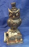 Steampunk Time Wise Owl Ornament Nemesis Now New Boxed