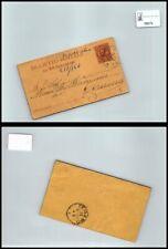 SP06979 Regno Umberto I Sass. cartolina postale da a