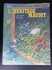 Album N° 26 les 4 fantastiques l'Héritage maudit Marvel
