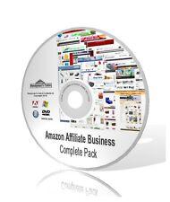 Amazon affiliato business COMPLETE PACK-video, guide e altro ancora! DVD