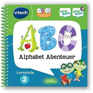 514381-C Vtech® Buch »MagiBook Lernstufe 2 - Alphabet Abenteuer« *NEU*