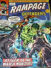 RAMPAGE staring the DARING DEFENDERS Comic - No 27 - Date 19/04/1978 - UK Marvel