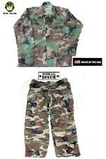 US Army Tarnanzug Hose Jacke BDU WCP woodland camouflage ML Medium Long