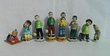 Lot of 8 Gort Bone China Company Oriental Figurines - Bone China