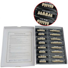 Dental Synthetic Polymer Resin Tooth Denture T4-A2 CE/FDA KAILI 4 Sets/Box SALE!