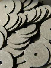 50 Gelenkscheiben / Pappscheiben 25 mm für Teddys - Besonders fest!