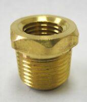 """1pc Brass Pipe Female Coupling Fitting 3//4/"""" NPT MettleAir 103-E"""