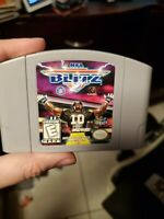 NFL Blitz Nintendo N64 Game Authentic tested working ship out fast