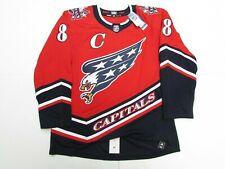 OVECHKIN WASHINGTON CAPITALS AUTHENTIC ADIDAS REVERSE RETRO JERSEY SIZE 50