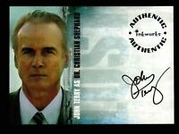 Lost Season 1 One A-7 John Terry as Dr. Christian Shephard Autograph Card