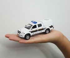RARE ISRAEL POLICE CAR TOYOTA HILUX version 2016  SCALE 1:43 MODEL TOY BEST GIFT