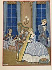 GEORGE BARBIER POCHOIR 1934 (POSTHUMOUS EDITION) 770 COPIES RARE