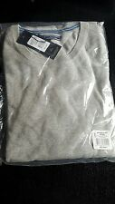 TOMMY HILFIGER PACIFIC COTTON  CREW NECK JUMPER. BNWT. COLOUR. GREY. SIZE XXL