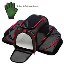 Premium Airline Approved Expandable Pet Carrier-TWO SIDE Expansion Free Gloves