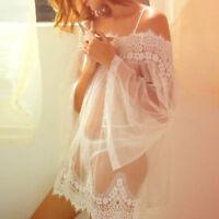NEW US Women Lingerie Sleepwear Lace G-string Underwear Nightwear Babydoll Dress