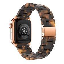 Apple Watch Series 5 4 3 2 1 Lava Volcano Burning Link Watch Band Strap for