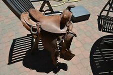 VINTAGE 14 INCH WESTERN SADDLE MADE BY SIMCO