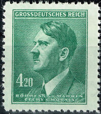 Germany Protectorate WW2 Hitler's Last 56th Birthday 1945 MNH