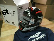 VEMAR ZEPHIR HELMET MOTORCYCLE SNOWMOBILE MOTOCROSS ATV - MEDIUM FULLFACE