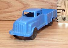 Vintage Wannatoy Plastic Blue Pick Up Truck Toy Car Only -U.S.A.- **READ**