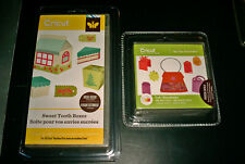 2 Cricut Cartridges Sweet Tooth Boxes AND Tags Bags Boxes and More BNIB