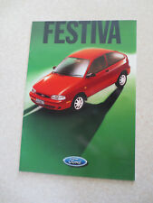 1997 Ford Festiva automobile advertising booklet