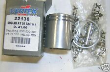 BB 22138 Piston VERTEX Moteur Morini 50 cc Suzuki Adresse Malaguti Crosser 41