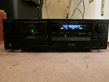 Aiwa AD-F810U 3 head cassette deck with remote