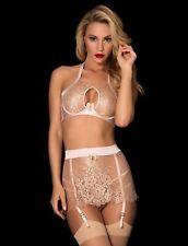 New Honey Birdette Olivia Bra 10B, Suspender XS, Brief Size S RRP$299.85