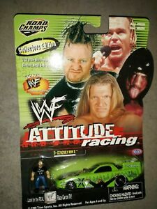 """1999 WWE/WWF ROAD CHAMPS 1/64th scale """"D-GENERATION X"""" ATTITUDE RACING [MOC]"""