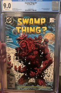Swamp Thing #57 CGC graded 9.0, Alan Moore Story
