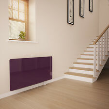 Deep Purple Glass Radiator Cover For The Hall - Large