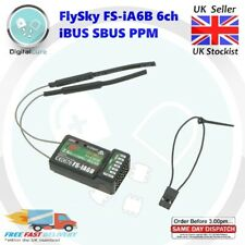 FlySky FS-iA6B 6CH 2.4GHz AFHDS 2A iBUS SBUS PPM Telemetry Receiver