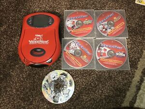 VideoNow Player 2003 Hasbro Kool Aid Edition Red With 5 Discs Tested Working