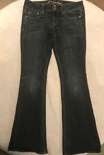American Eagle Women's Denim Jeans Artist Stretch Dark Wash Size 8 Regular EUC
