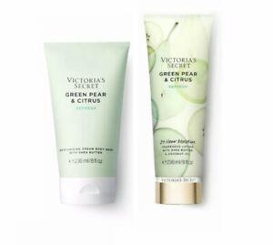 Victoria's Secret Green Pear & Citrus Refresh Fragrance Lotion & Body Wash
