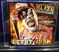 Blaze Ya Dead Homie - Let it Burn CD rare Single twiztid insane clown posse abk