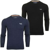 Superdry Mens 'Orange Label' Crew Neck Jumper