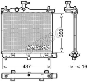 Radiatore Motore Hyundai i10 1.0 / 1.2 NUOVO - ORIGINALE DENSO