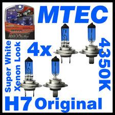 Glühbirnen/Halogen Birnen Lampen 4x ORIGINAL MTEC H7 SuperWhite Xenon Look bulbs