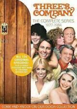✅THREE'S COMPANY THE COMPLETE DVD SERIES✅SEASON 1 2 3 4 5 6 7 8✅JOHN RITTER OOP✅